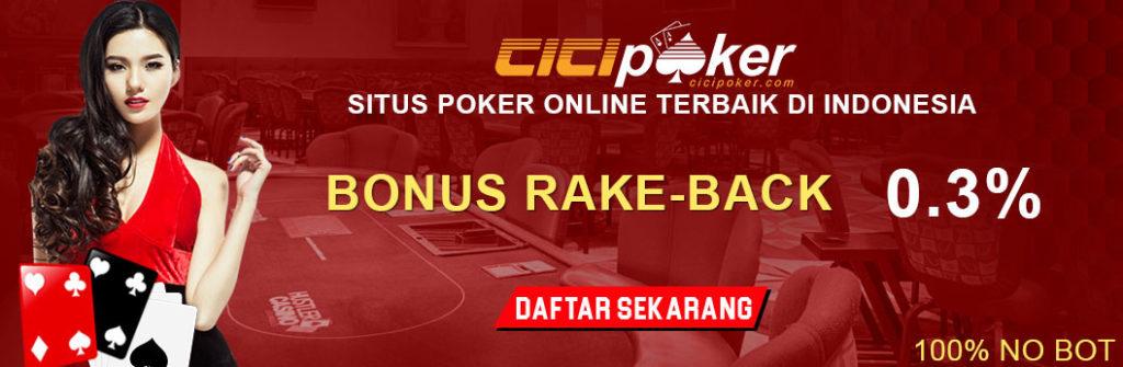 bonus judi poker online